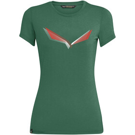 SALEWA Lines Graphic Dry T-Shirt Women, zielony